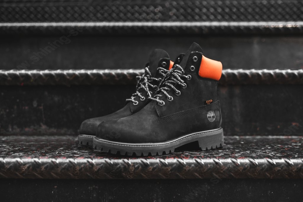 "Men Shoes Timberland X Porter "" Boot Black - -1"